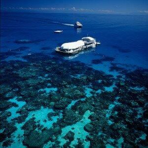 Image of Great Barrier Reef pontoon